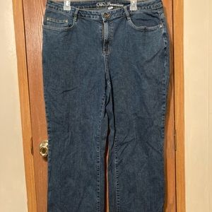 Cato jeans, 18w. Like new condition.